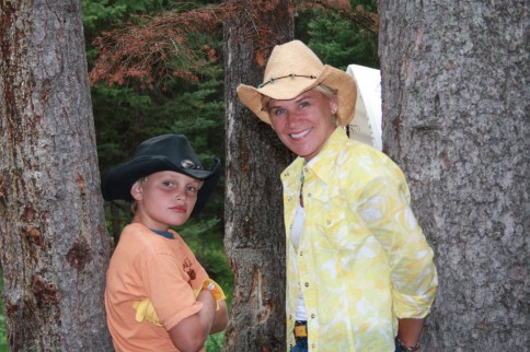 Alexander & I in Wyoming this summer